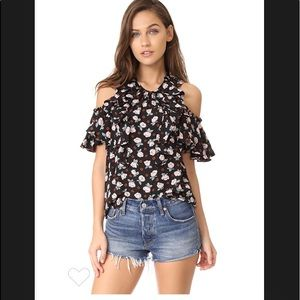 Rebecca Taylor Rosalie Top. Size 2. NWT.